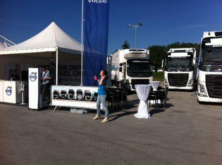 Volvo Trucks - Roll Show, Pojatno