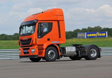 Test - Iveco s gumama Goodyear Fuelmax