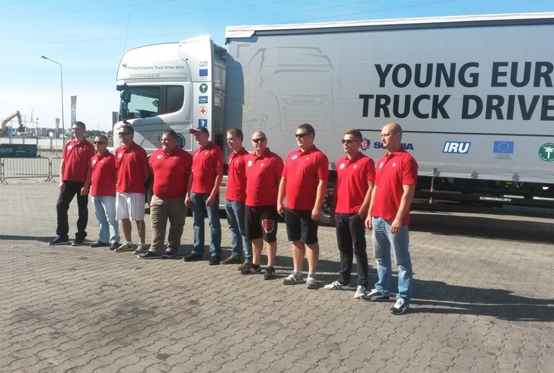 Scania: natjecanje za najboljeg mladog europskog vozača