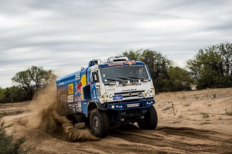 Dakar 2017 - prvoplasirani Nikolajev (RUS), Kamaz