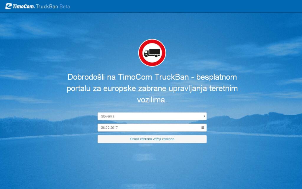 Truckban.info, nova web stranica TimoCom-a s korisnim informacijama