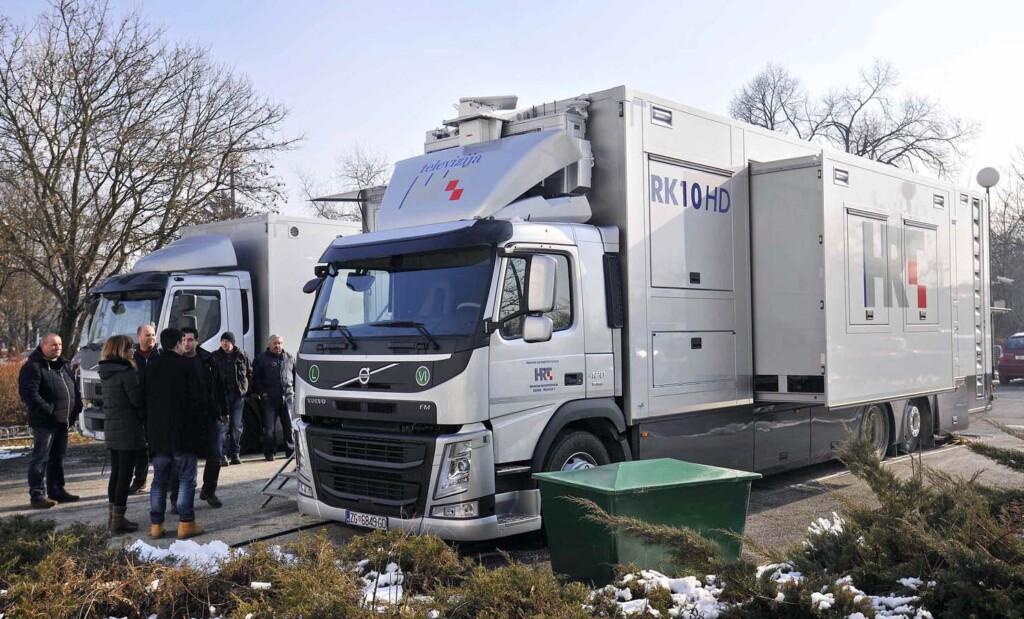RK10 HD, nova reportažna kola HRT-a bazirana na kamionu Volvo FM