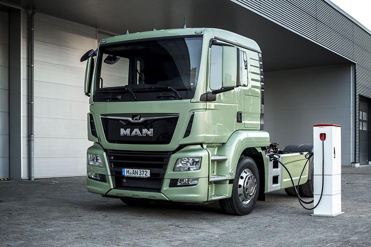 Električni kamion MAN