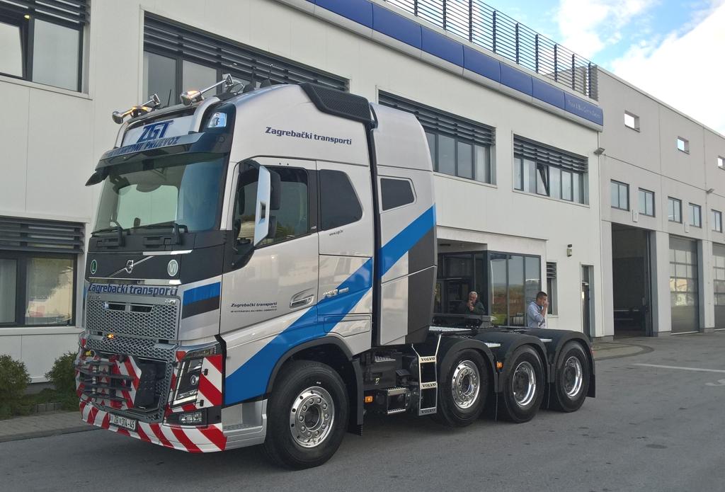 Novi Volvo FH16 750 8x4 PT