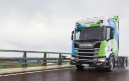 Scania testira prvi CNG kamion u Litvi