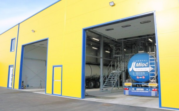 Novi pogon za pranje kamionskih cisterni u Antunovcu kraj Osijeka