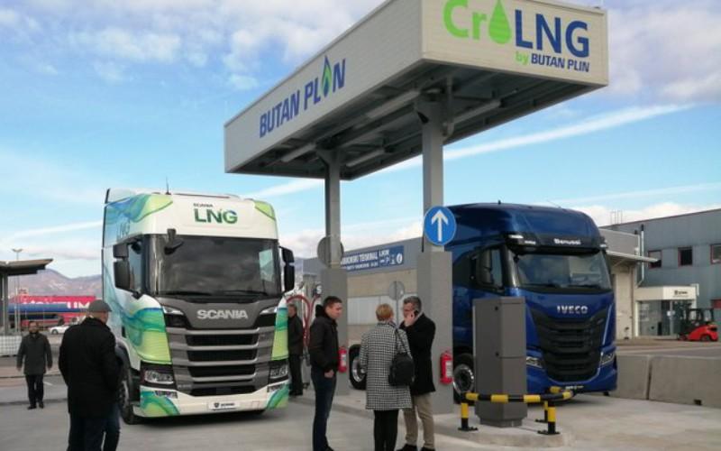 Prva punionica LNG za teretna vozila u Hrvatskoj