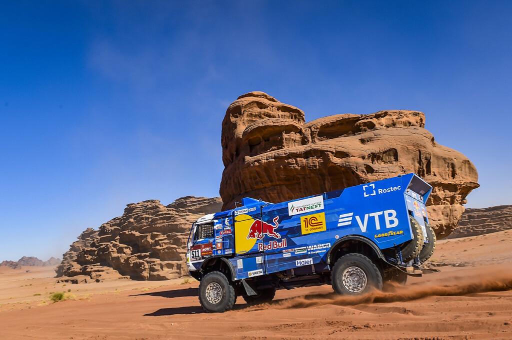 """Ekipa KAMAZ-master na """"Goodyear"""" gumama neporažena na Dakar Rally-u"""