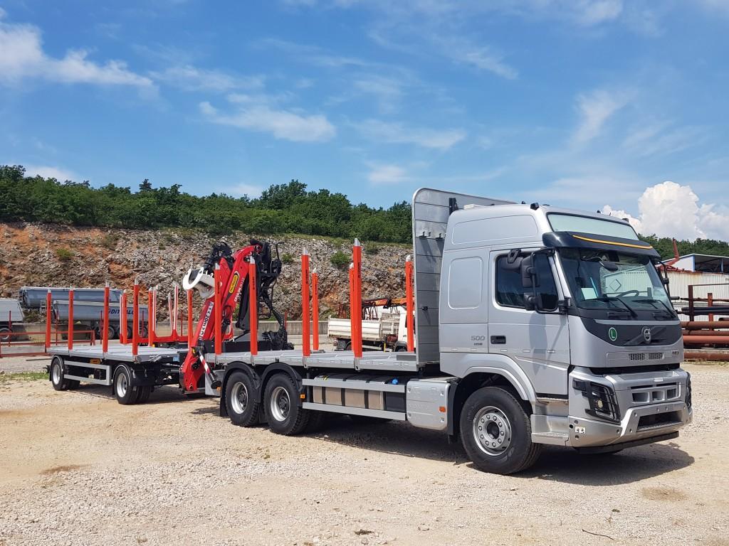Šumarski Volvo FMX za tvrtku Kušanić d.o.o.