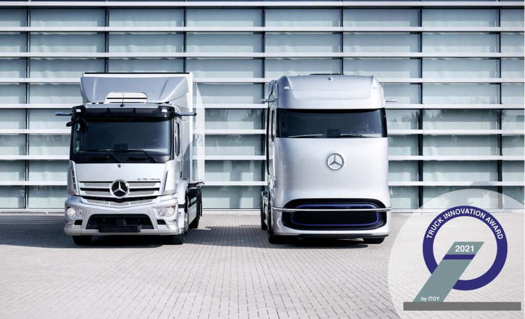 ITOY - nagrada za inovaciju 2021. - Mercedes Benz