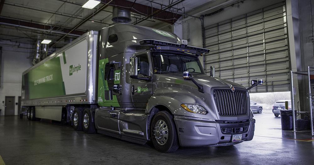 Investicija Goodyear-a u TuSimple, tvrtku koja razvija autonomne kamione